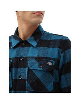 Camisa  Dickies Sacramento Relaxed Coral Blue Hombre