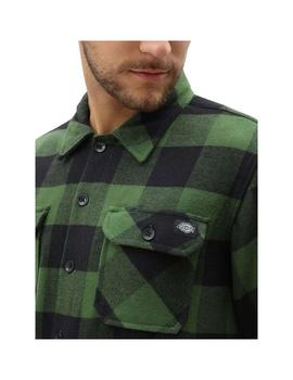 Camisa  Dickies Sacramento Relaxed Pine Green Hombre