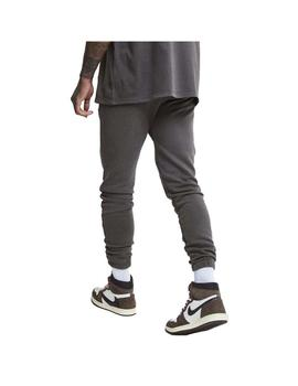 Pantalon SikSilk x Steve Aoki Joggers Washed Grey