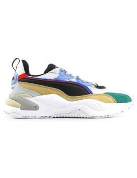 Zapatillas Puma Rs-2K Hf The Hundreds White Aspara Hombre