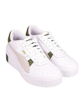 Zapatillas Puma Cali Wedge Mix Wn'S White-Thyme Mu