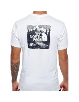 Camiseta The North Face S/S Redbox Celebration Blanco Hombre