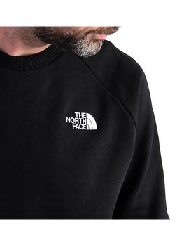 Sudadera The North Face Rag Redbx Crew New Tnf Negro Hombre