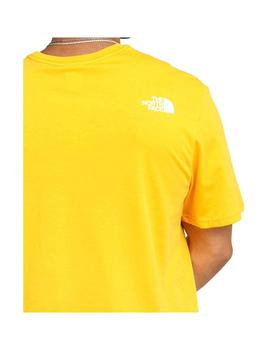 Camiseta The North Face Standard SS Amarillo Hombre