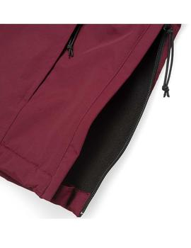 CAZADORA CARHARTT WIP HOMBRE NIMBUS GRANATE(COATED MULBERRY)
