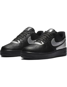 Zapatillas Nike Air Force 1 '07 LV8 Black/Metallic Hombre