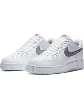 Zapatillas Nike Air Force 1 '07 White/Silver-Anthr Hombre