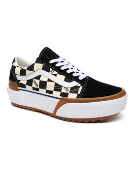 Zapatillas Vans Old Skool Stacked Checkerboard Multicolor Mu
