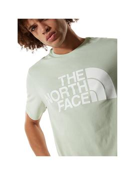 Camiseta The North Face Standard Ss Green Mist Hombre