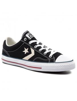 Zapatillas Converse Star Player Ox Black/Milk Homb