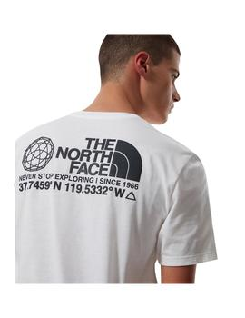 Camiseta The North Face Coordinates S/S Tnf White Hombre