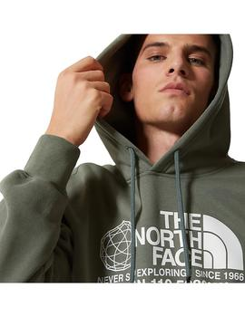 Sudadera The North Face Coordinates P/O Agave Green Hombre
