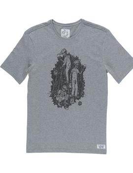 CAMISETA ELEMENT NIGHT SHIFT SS GRIS HOMBRE
