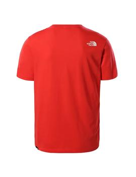 Camiseta The North Face Standard Ss Horizon Red Hombre
