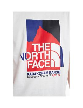 Camiseta The North Face K2Rgraphic S/S Tnf White Hombre