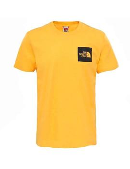 Camiseta The North Face S/S Fine Amarilla Hombre