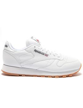 REEBOK CLASSIC LEATHER BLANCO CARAMELO