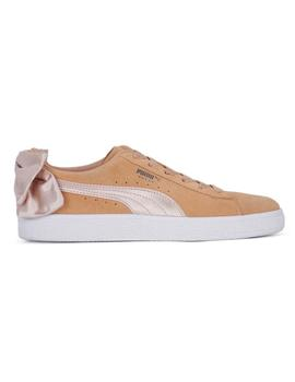 ZAPATILLAS PUMA SUEDE BOW DUSTY CORAL