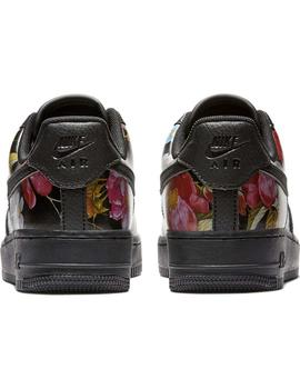 Zapatillas Nike Air Force 1  07 LXX Negro Mujer