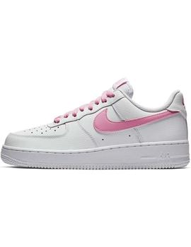 Zapatillas Nike Air Force 1 07 Ess Wht/pink Mujer
