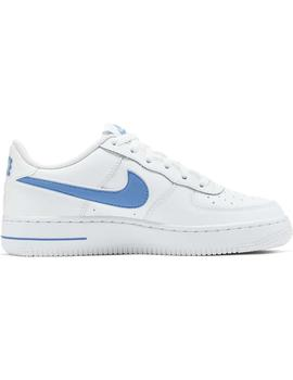 Zapatillas Nike Air Force 1-3 Gs Blanco Mujer