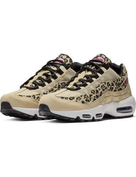 Zapatillas Nike Air Max 95 Prm Dese Beige Mujer