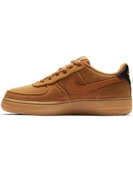 ZAPATILLAS NIKE AIR FORCE 1 LV8 STYLE MARRON MUJER