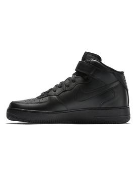 ZAPATILLAS NIKE AIR FORCE 1 MID NEGRO HOMBRE