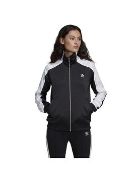 CHAQUETA ADIDAS TRACK TOP NEGRO MUJER
