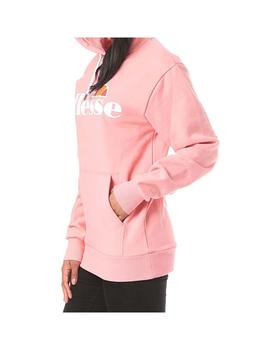 SUDADERA ELLESSE TORICES ROSA MUJER