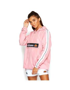 Cazadora Ellesse Tonvilli Over Head Pink Mujer