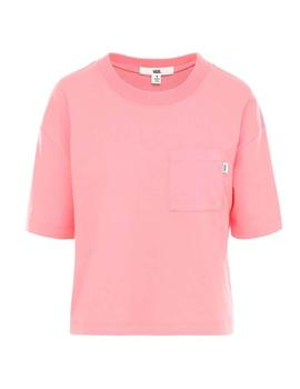 Camiseta Vans Brush Off Strawberry Pink Mujer