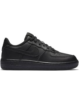 NIKE FORCE 1 (PS) NEGRO/NEGRO NIÑO/A