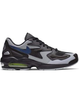 Zapatillas Nike Air Max2 Light Blk/Tdstr