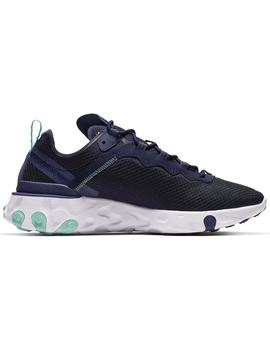 Zapatillas Nike React Element 55 Blk Hom
